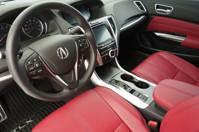 Acura Tlx Interior >> New 2020 Acura Tlx V 6 Sh Awd With A Spec Package And Red Interior 4d Sedan