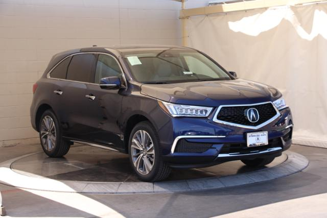 New Acura MDX With Technology Package Sport Utility In Austin - Www acura mdx 2018