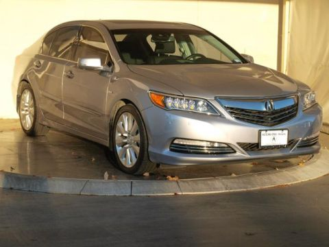 Certified Pre-Owned 2016 Acura RLX Sport Hybrid SH-AWD with Advance Package